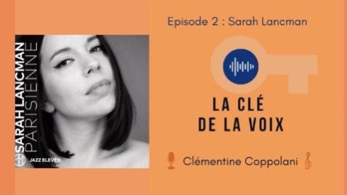 "Podcast E2 "" Etre artisan de l'artiste"" avec Sarah Lancman"