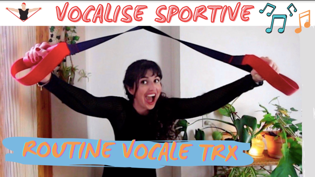 Chanter en faisant du sport ! Vocalise au TRX