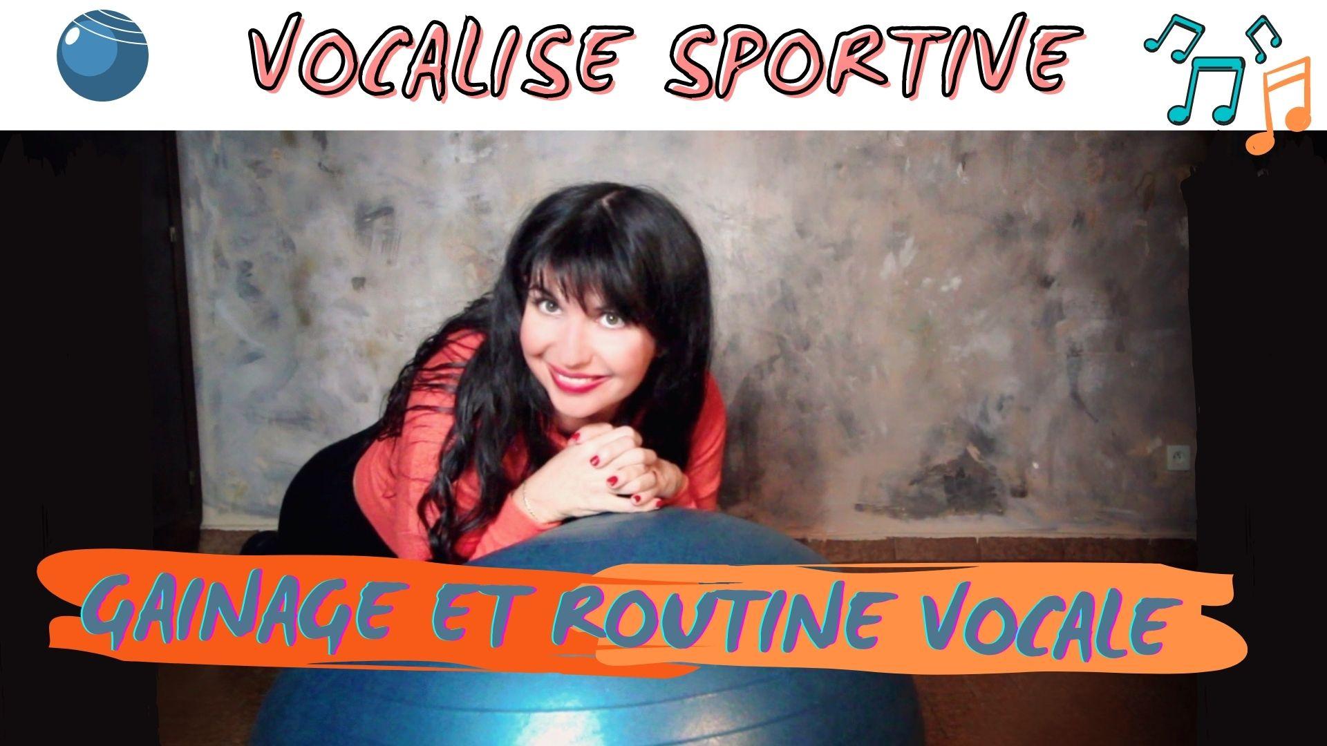 Chanter en faisant du sport ! Vocalise gainage