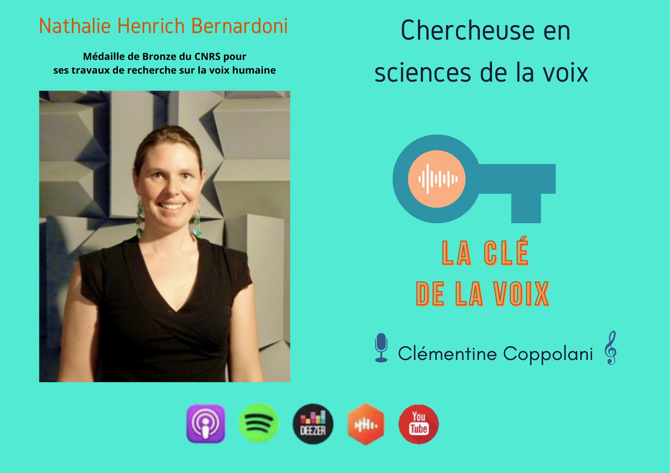 E19 Science et voix: Nathalie Henrich-Bernardoni